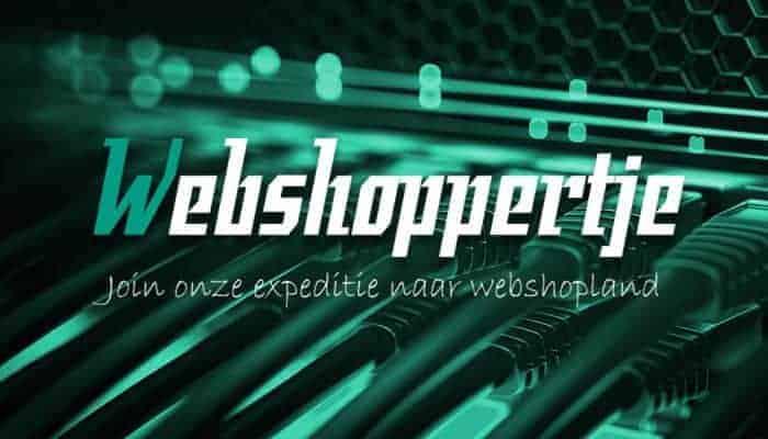 Webshoppertje standaard afbeelding