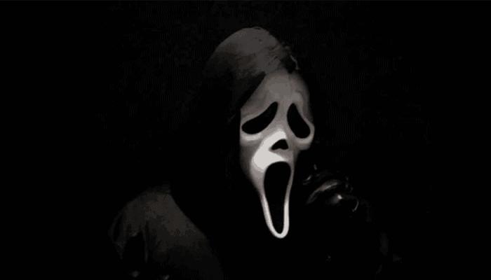 Scream masker Ghostface