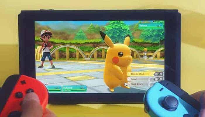 Tailer van de nieuwe Pokémon game