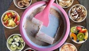 Mini Rolling Ice Grill