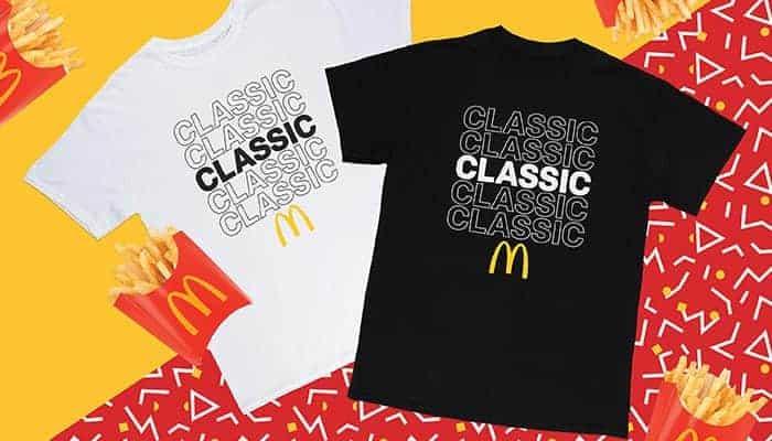 mcdonalds tshirts