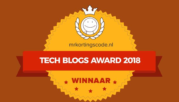 Tech Blog Award 2018