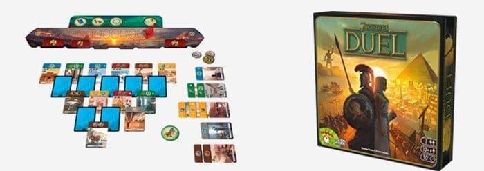 7 wonders duel bordspel