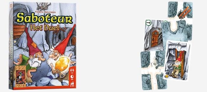 Saboteur: het duel voor 2 personen