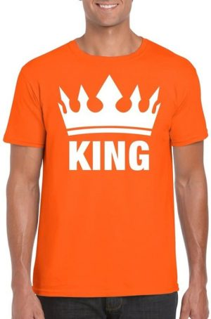 Oranje King shirt
