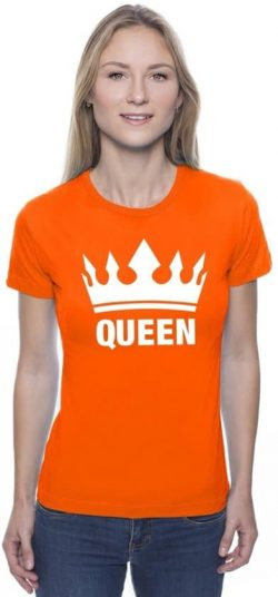 Oranje Queen shirt