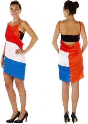 Jurkje met Nederlandse vlag