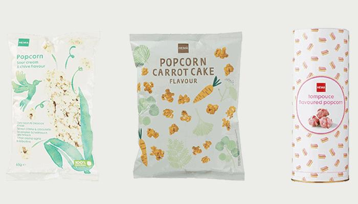 Popcorn Bieslook Tompouce Carrotcak
