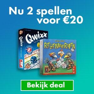 2 spellen voor 20 euro