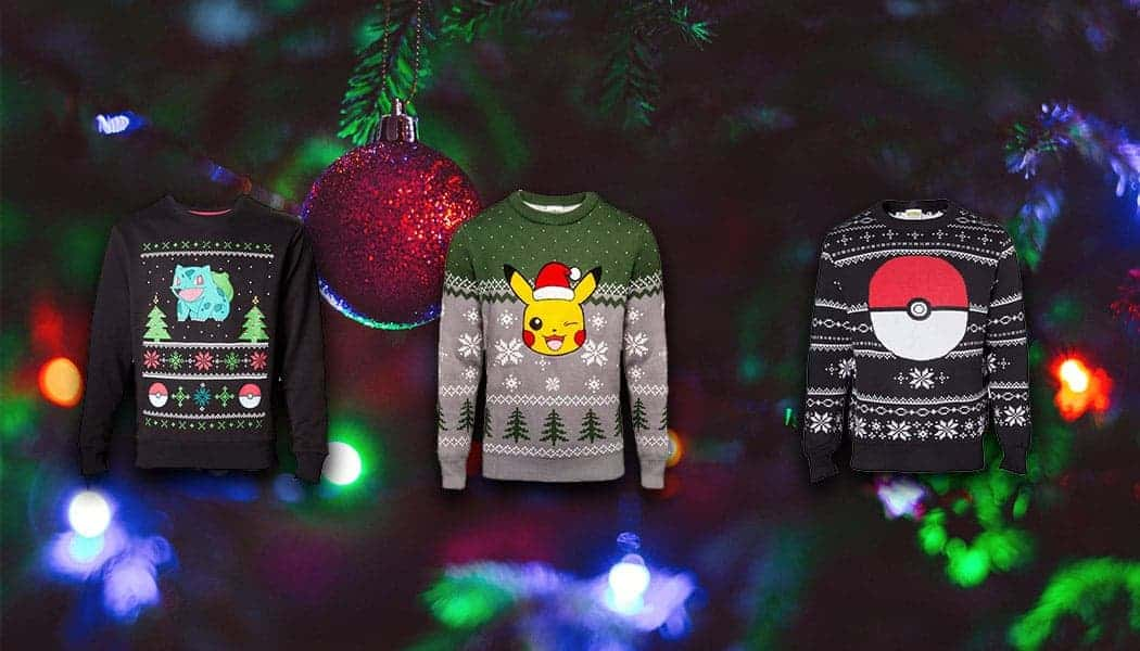 Pokemon kersttruien