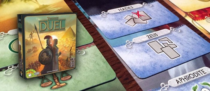 7 wonders duel voor 2 spelers