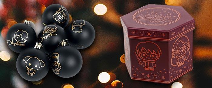 Harry Potter Chibi kerstballen