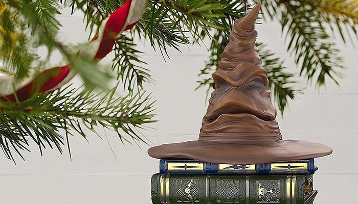 Harry Potter sorteerhoed kerstbal