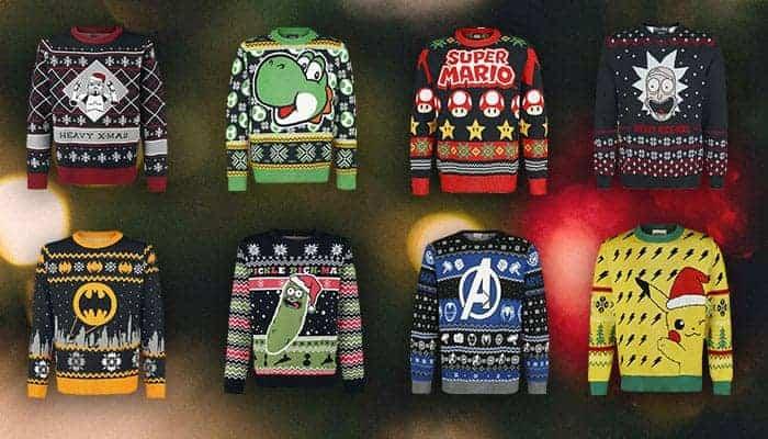 Kersttruien voor nerds verzameling