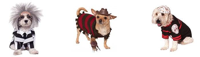 Halloween Horror kostuums voor honden