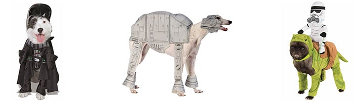 Honden kostuum Star Wars the empire