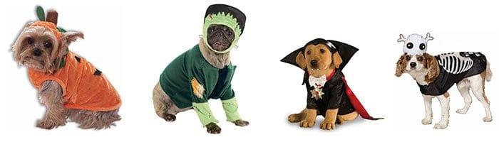 Horror verkleedpakjes voor hondjes