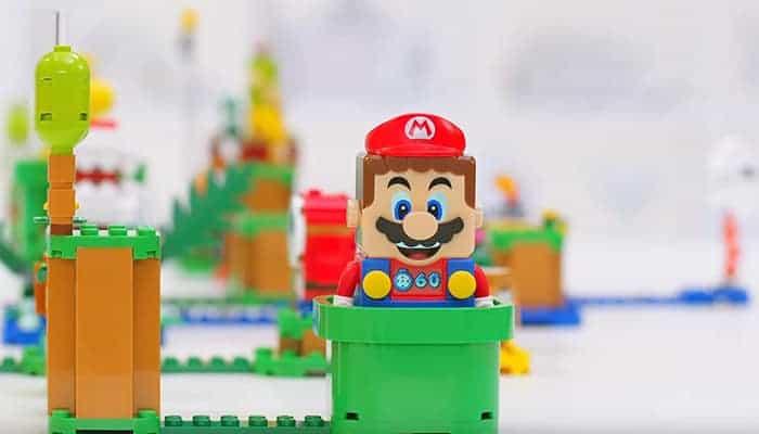 LEGO en Super Mario samenwerking