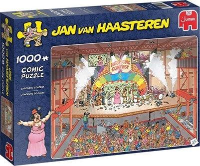 Songfestival puzzel 1000 stukjes van Haasteren