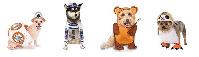 Star Wars verkleedpakjes voor honden