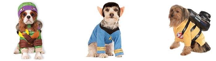 Superhelden kostuums voor honden