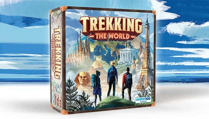 Trekking the world bordspel kickstarter