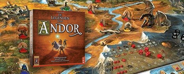 De Legenden van Andor coöperatief bordspel
