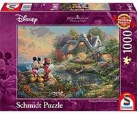 Mickey en Minnie Mouse puzzel 1000 stukjes