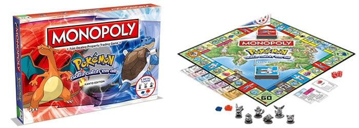 Monopoly Pokémon Kanto editie