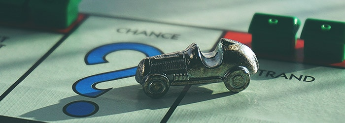 Monopoly klassieke auto