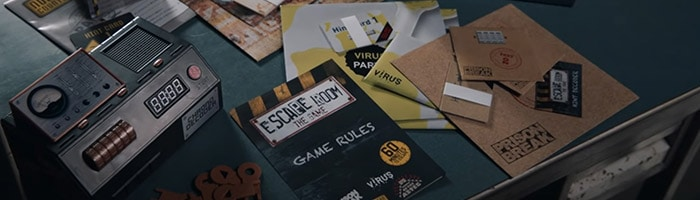 Escape Room The Game basisspel 1 en 2