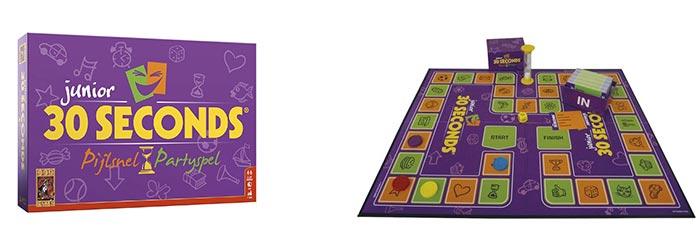 30 seconds Junior is een super leuk spelletjes voor de hele famlilie