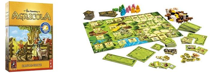 Agricola Familie is een van de beste gezinsspellen uit onze lijst