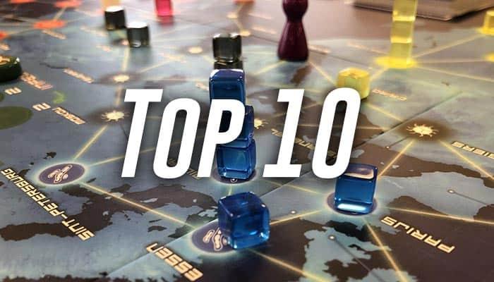 Bordspellen top 10: overzicht met de beste spellen