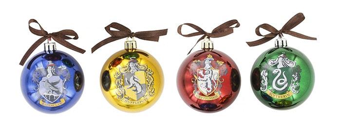 Harry Potter Zweinstein kerstballen