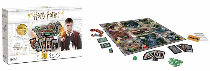 Een van de leukste Harry Potter bordspellen: Cluedo