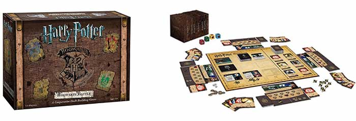 Harry Potter and the battle of Hogwarts bordspel