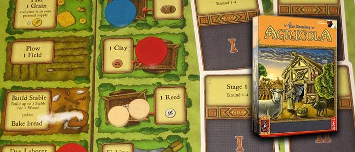 Agricola bordspel voor 1 speler