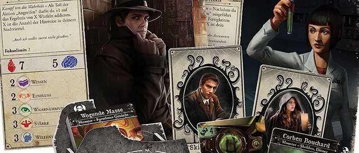 Arkham Horror kaartspel voor één persoon