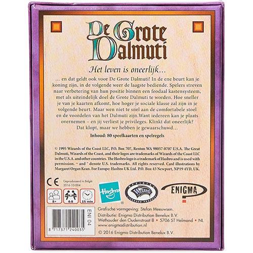 De Grote Dalmuti Kaartspellen