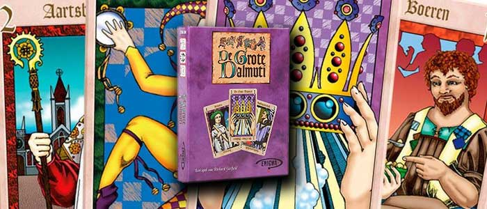 De Grote Dalmuti is een van de leukste reisspellen