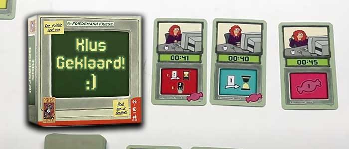 Klus Geklaard! puzzel spelletje voor 1 speler