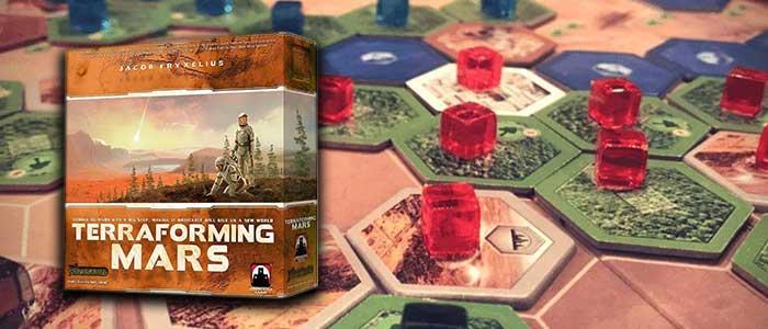 Terraforming Mars zeer geschikt voor 1 persoon