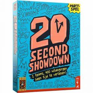 20 seconds showdown party spel
