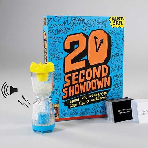 20 seconds showdown partyspel