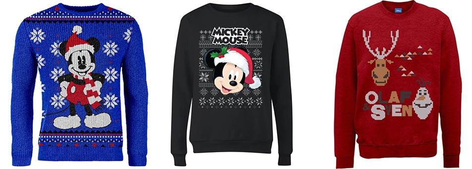 Disney kersttruien Zavvi