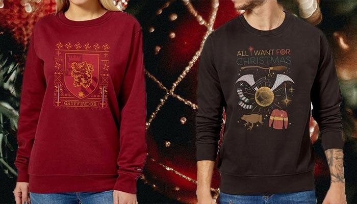 Harry Potter kersttruien magisch