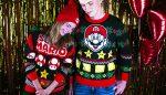 Nintendo Super Mario kersttruien