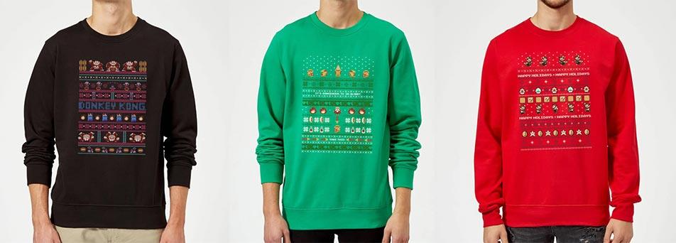 Nintendo kersttruien